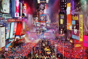 New Year Eve, Time Square